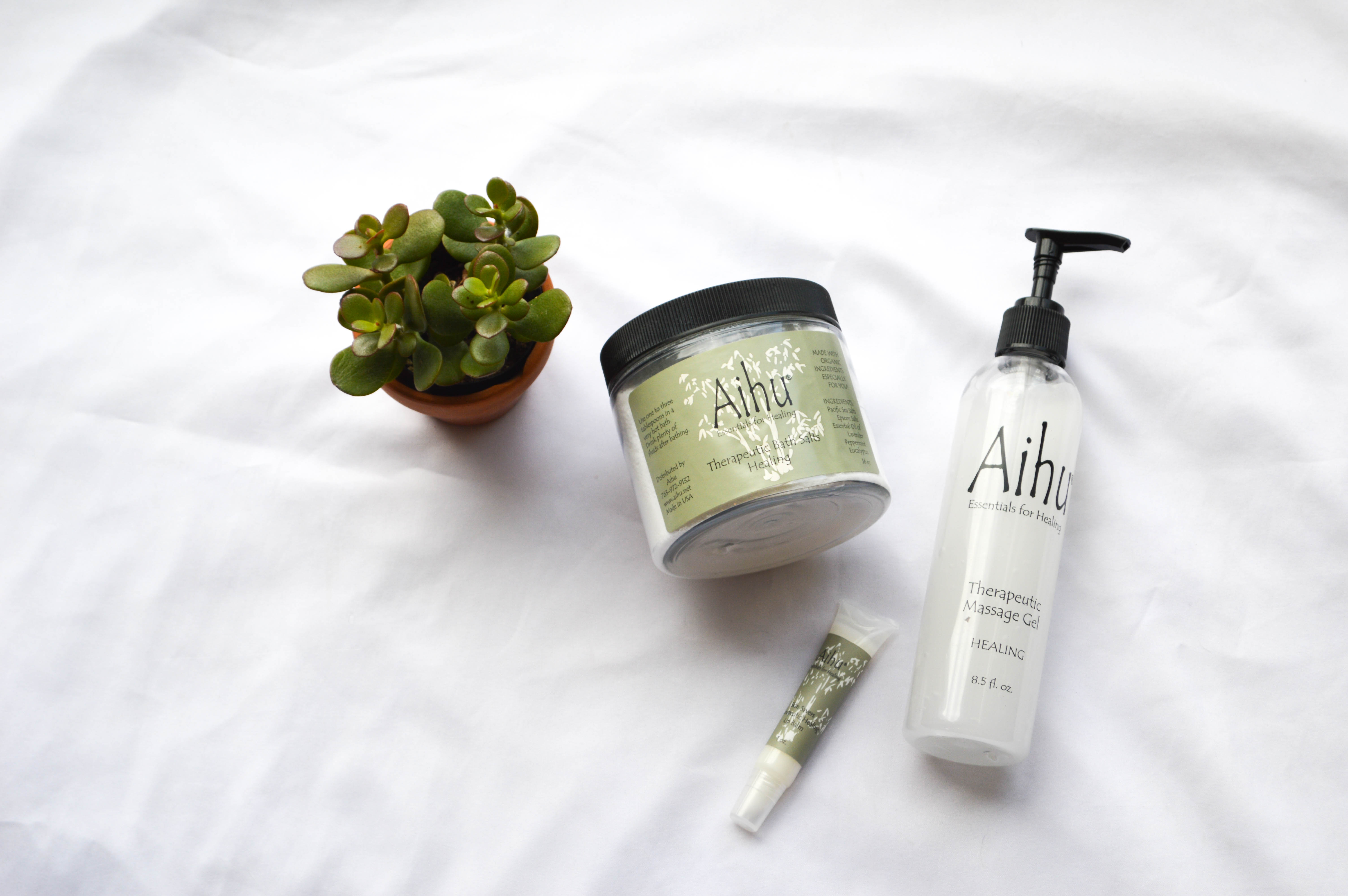 Aihu Essentials for Healing review featured by popular Denver life and style blogger, All Things Lovely