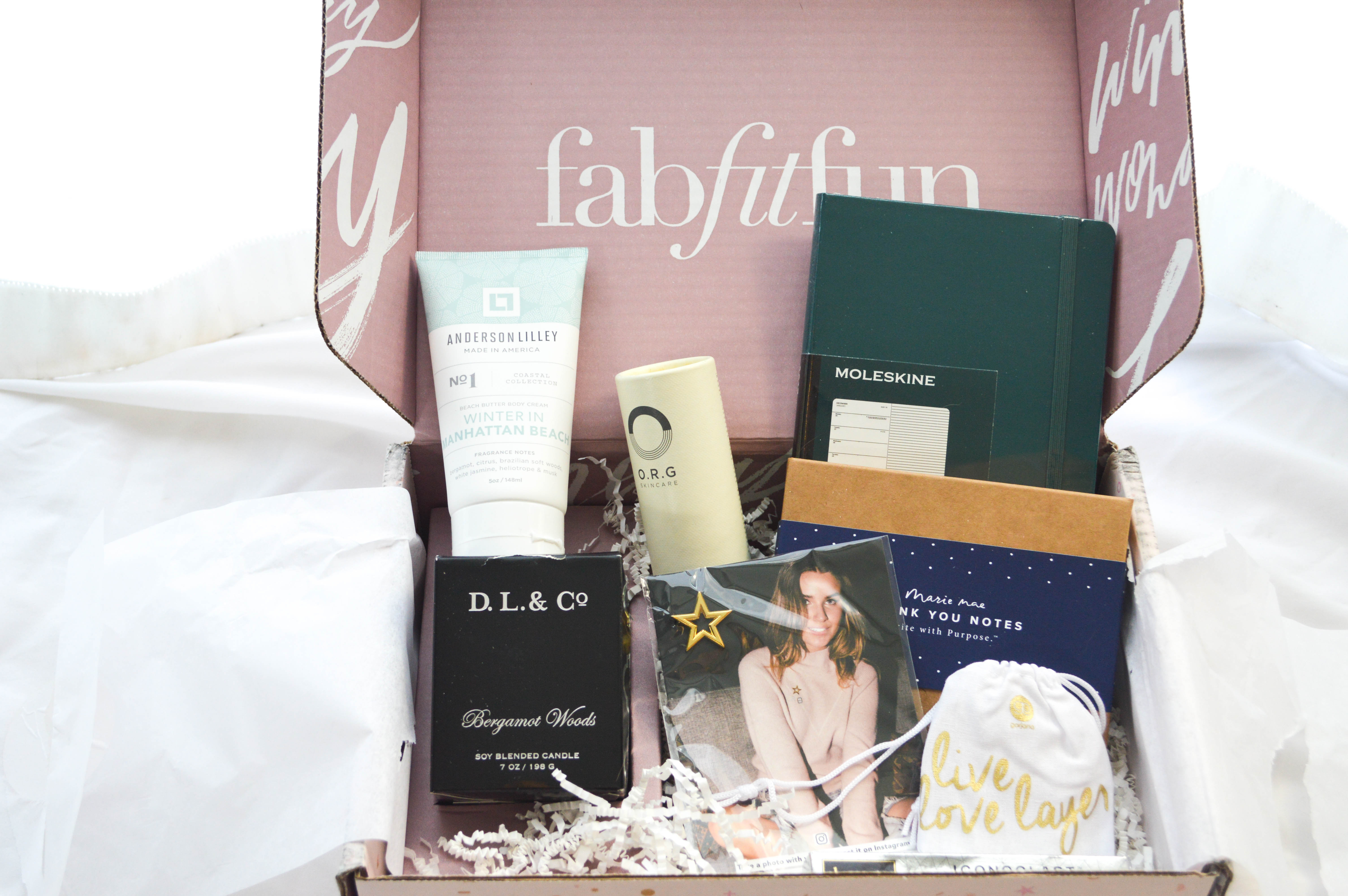 Fab Fit Fun Winter Box Review featured by popular Denver lifestyle blogger, All Things Lovely