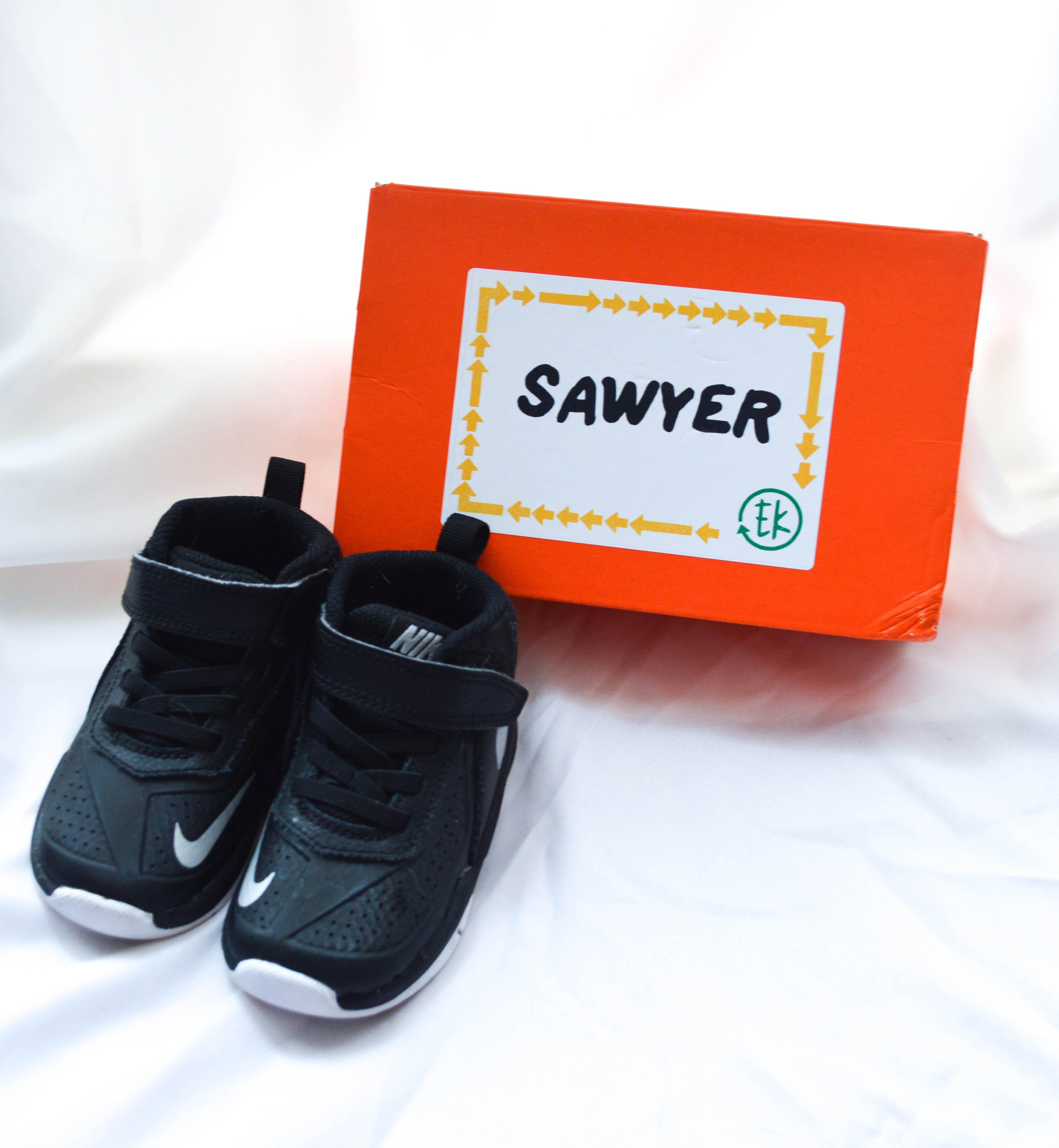 EasyKicks children's shoes featured by popular Denver mom blogger, All Things Lovely