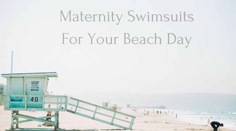 The Best Maternity Swimsuits featured by popular life and style blogger, All Things Lovely