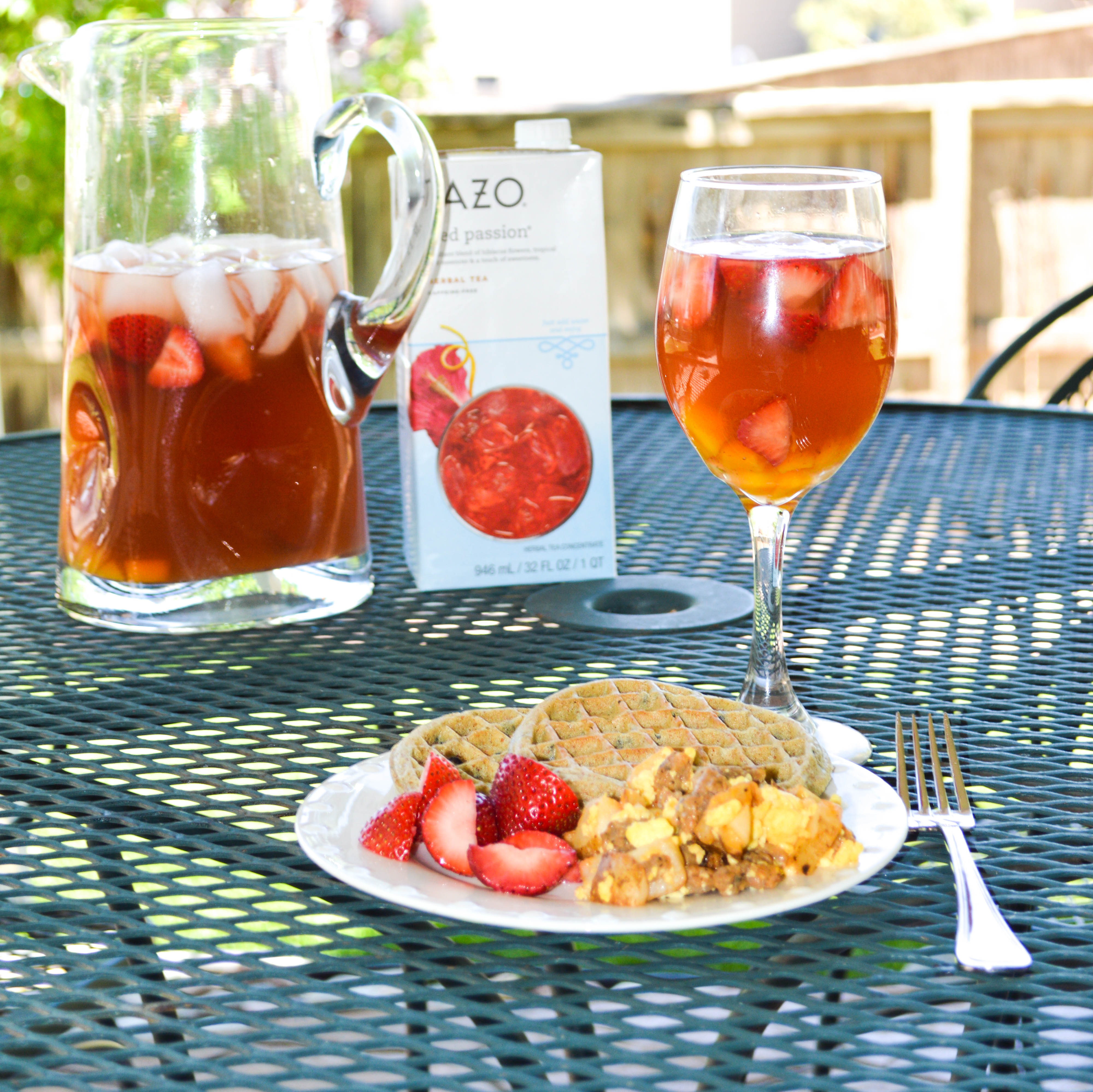backyard sippable moments with virgin mango passion tea sangira