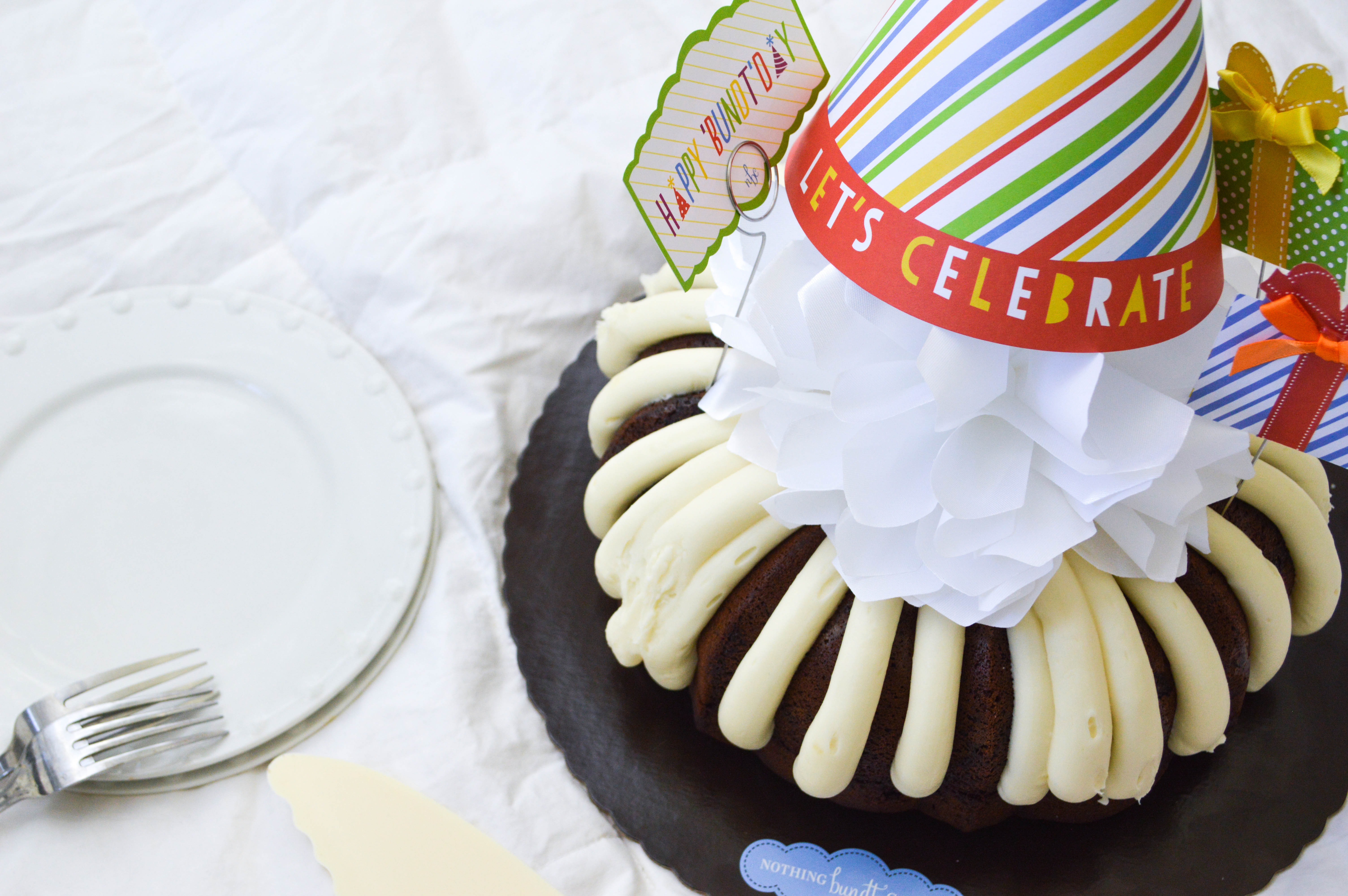 You Still Deserve A Birthday Featuring Nothing Bundt Cakes All
