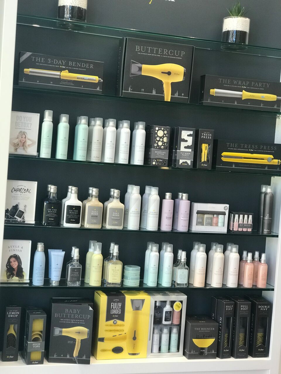Drybar Park Meadows review featured by popular life and style Denver blogger, All Things Lovely