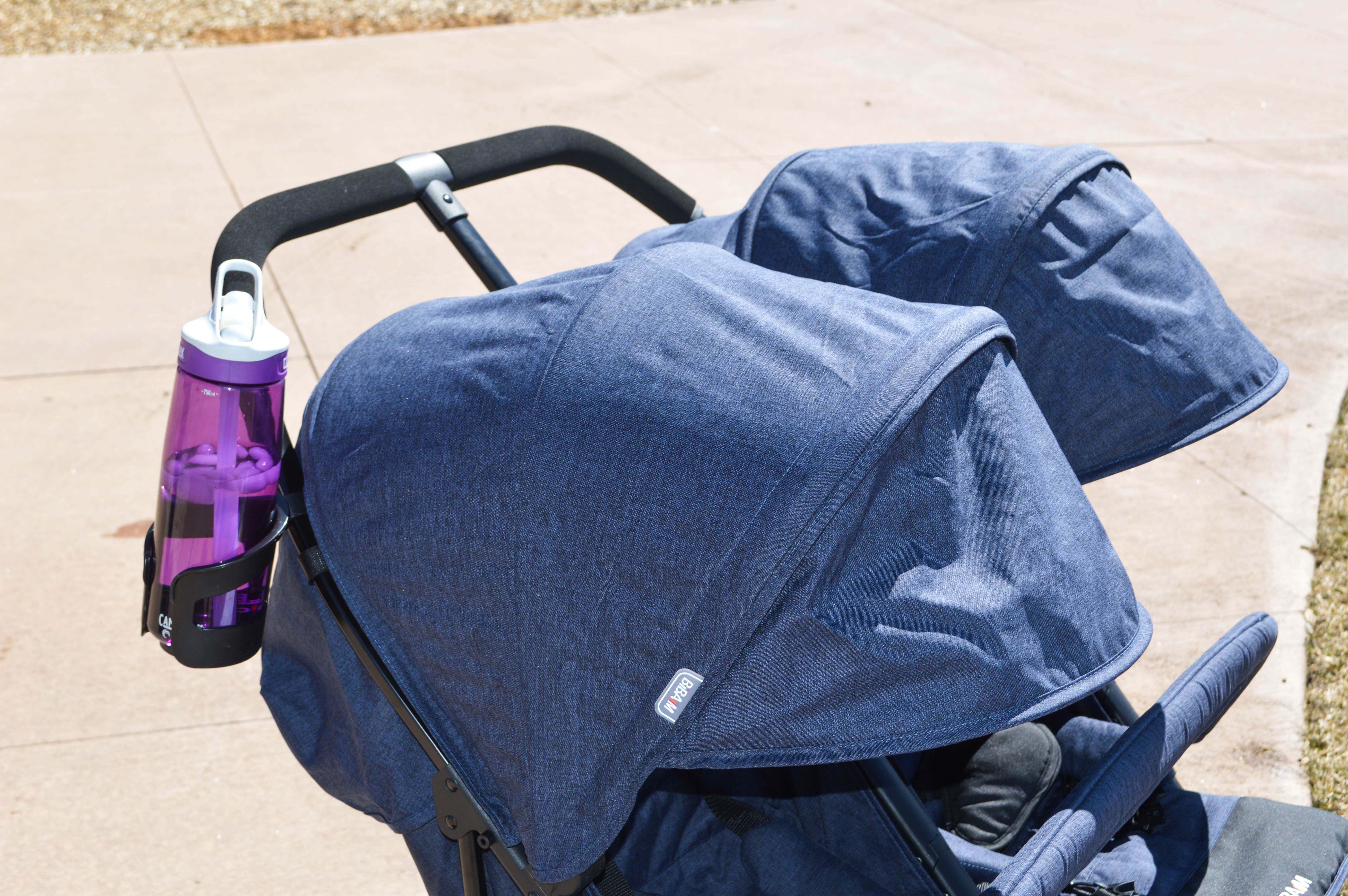 Biba M Double Stroller Review featured by popular Denver life and style blogger, All Things Lovely
