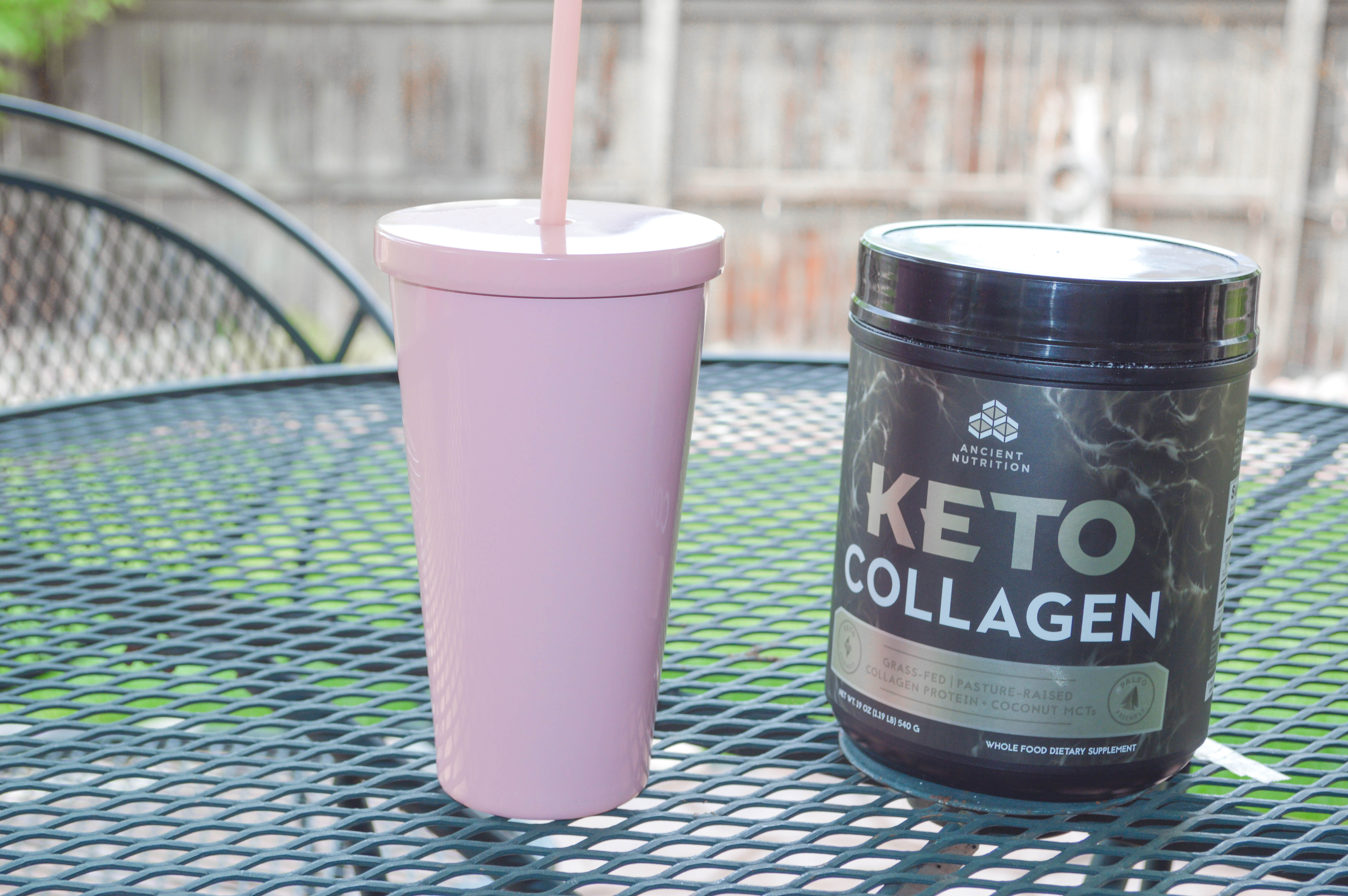 The Benefits of Hydrolyzed Collagen Powder in Your Coffee featured by popular Denver lifestyle blogger, All Things Lovely