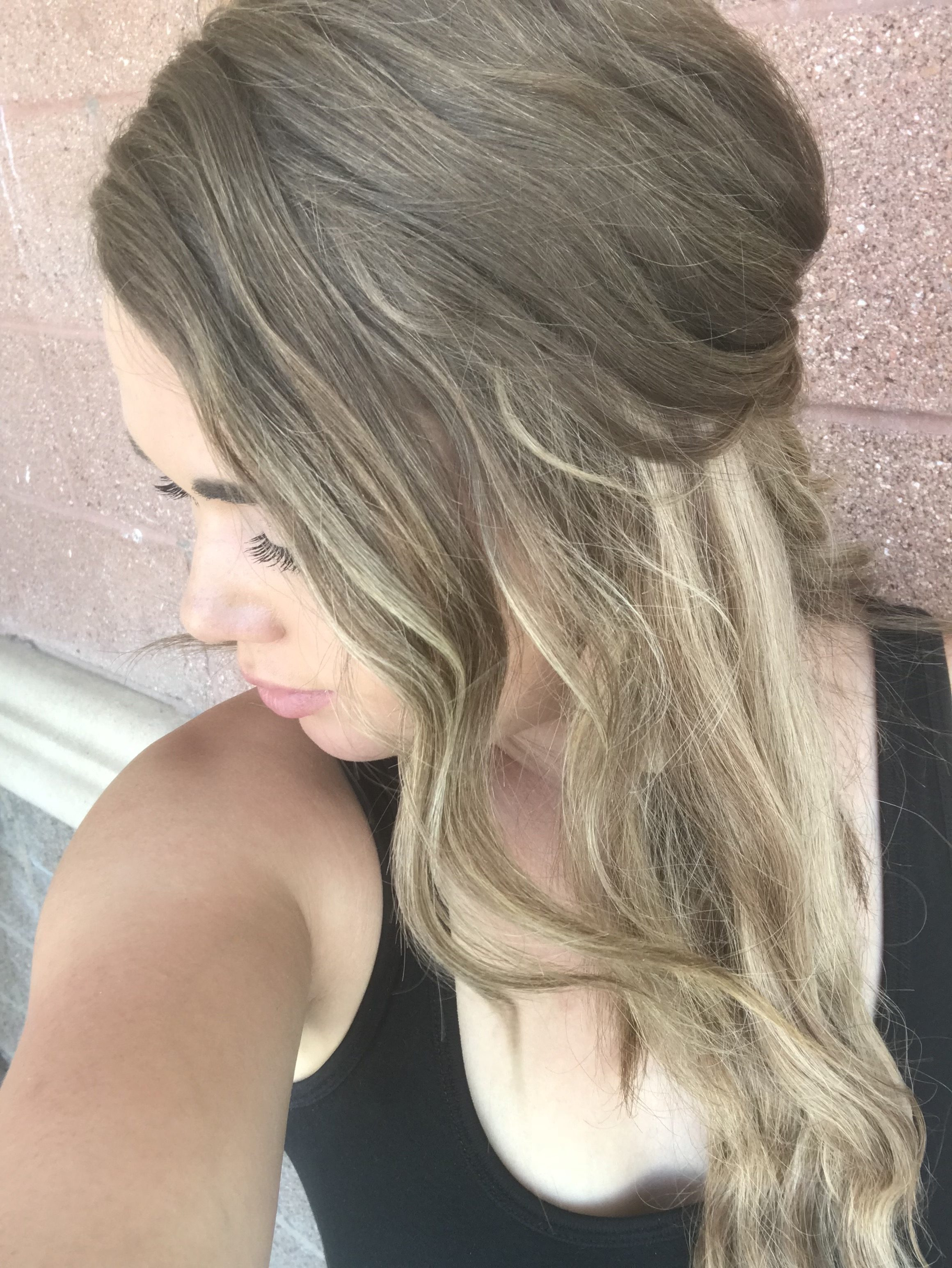 hidden crown hair extensions featured by popular Denver life and style blogger, All Things Lovely
