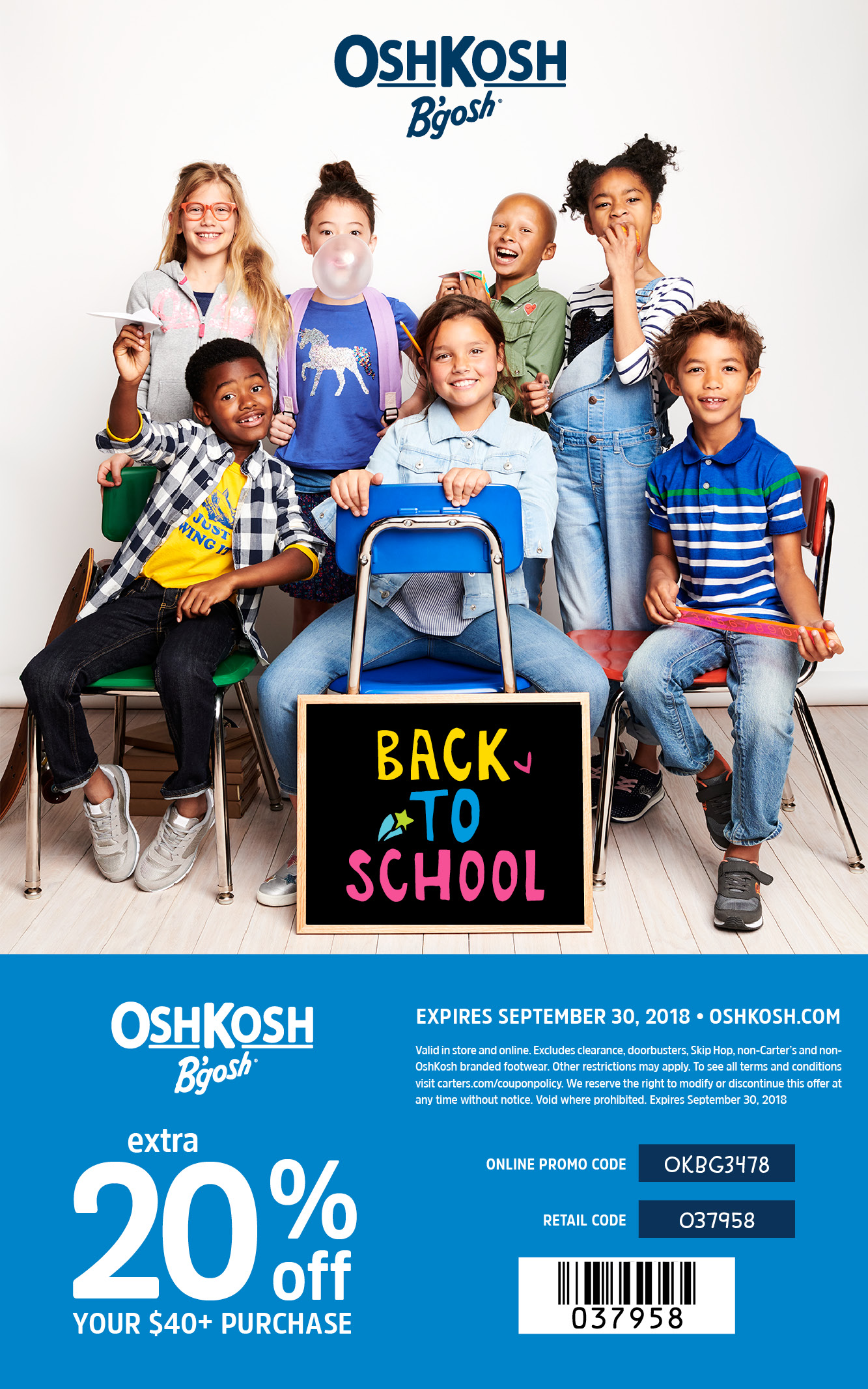 OshKosh B'Gosh Back to School Outfits featured by popular Denver style blogger, All Things Lovely