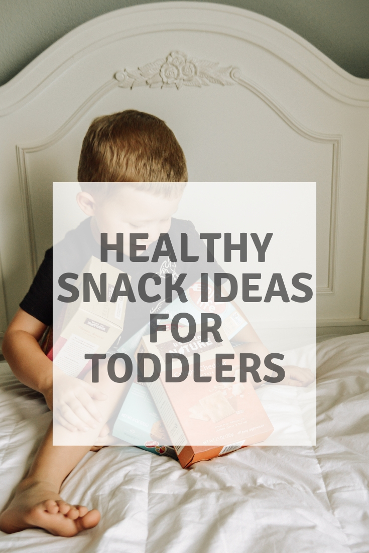 Healthy Snack Ideas for Toddlers featured by popular Denver mom blogger, All Things Lovely