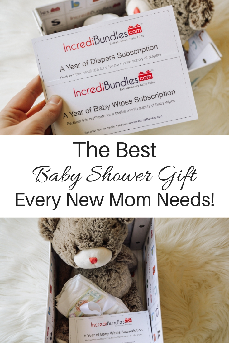 Popular Denver lifestyle and parenting blogger Katie of All Things Lovely tells you all about Incredibundles, an amazing diaper subscription service that makes the perfect gift for an expectant mom.