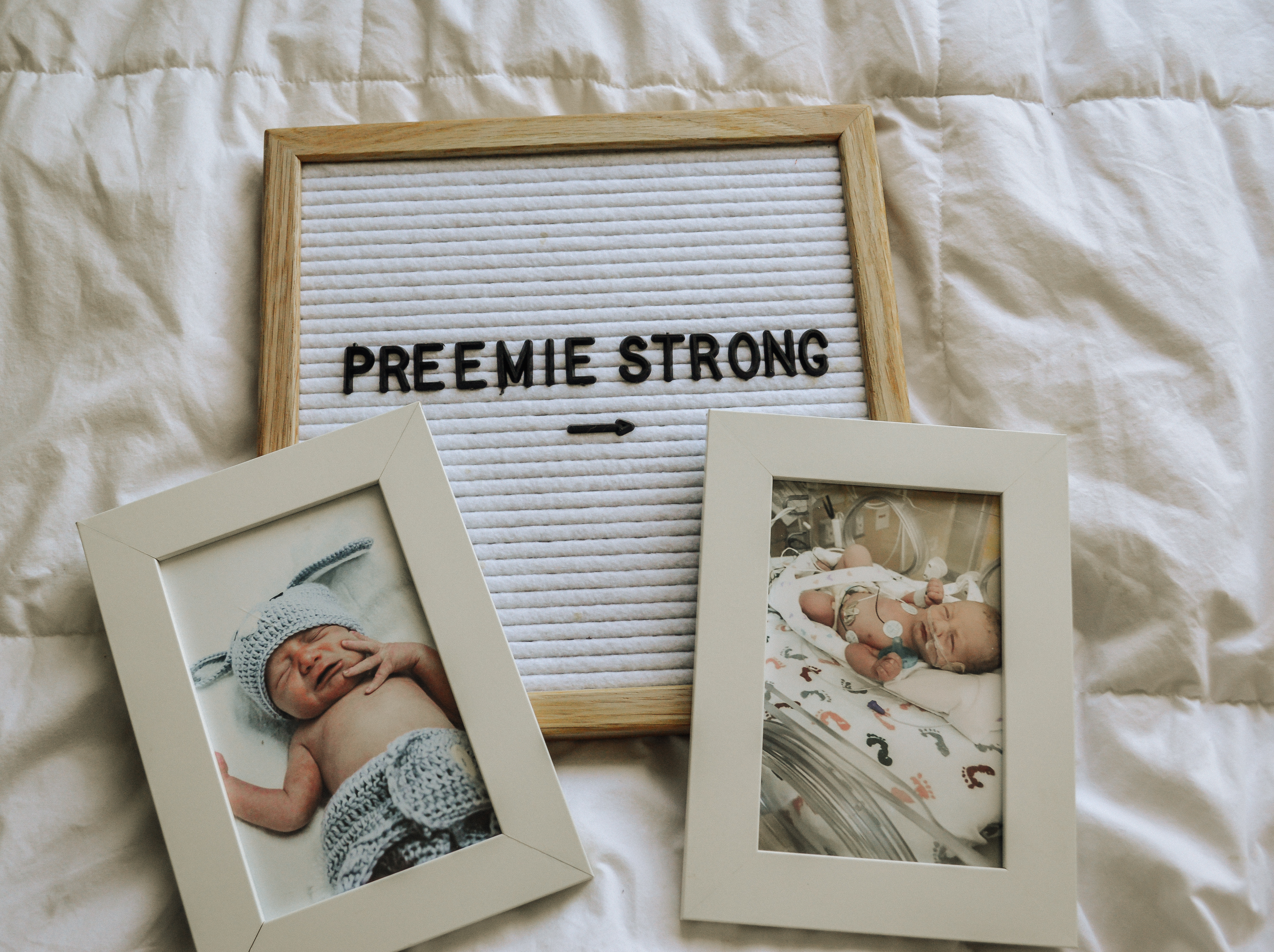 Carter's Preemie Clothes featured by top Denver mommy blogger, All Things Lovely