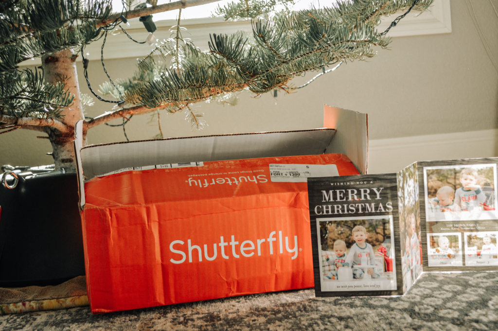 Shutterfly Holiday Cards featured by top Denver life and style blog, All Things Lovely