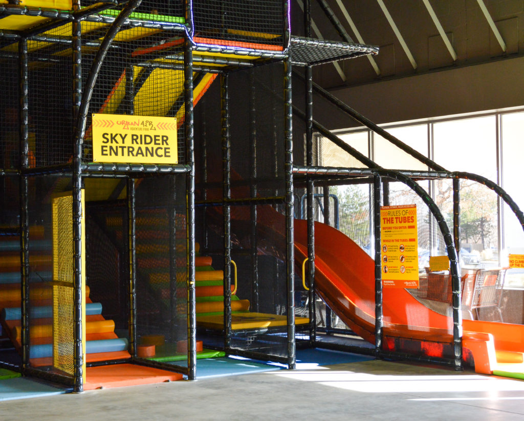 Urban Air Adventure Park review featured by top Denver blog, All Things Lovely