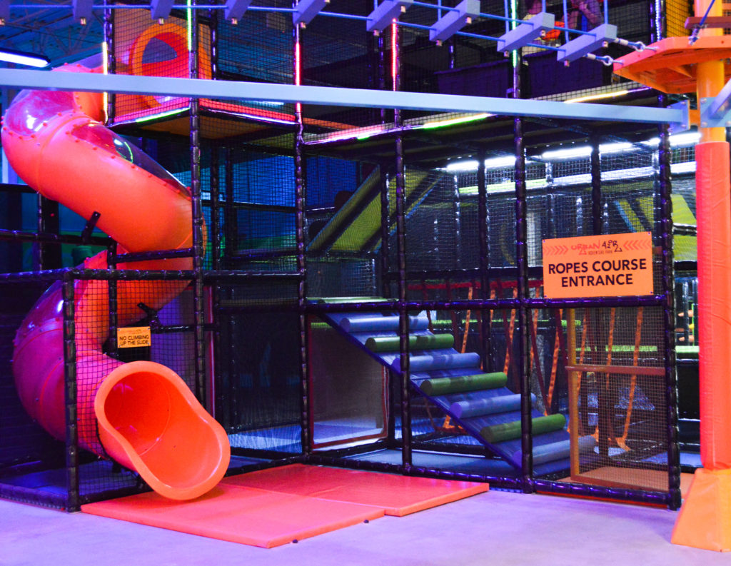 Urban Air Adventure Park in Westminster, CO review featured by top Denver blog, All Things Lovely
