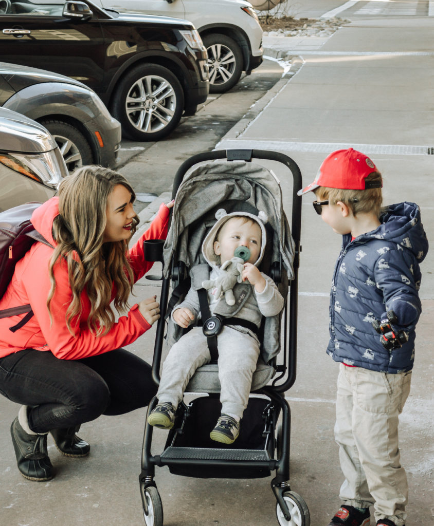 Cybex stroller and car seat review feature dby top US lifestyle blog, All Things Lovely